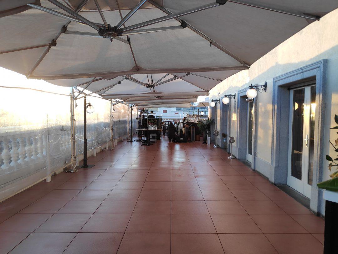 Reforma Solado Terraza Restaurante Chicote Edipeninsula
